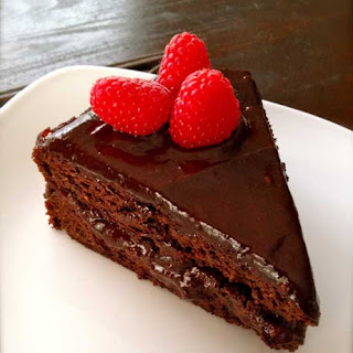 Beetroot and Raspberry Chocolate Cake