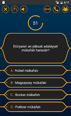 Milyonçu - Bilik Oyunu - screenshot