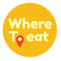 Where to Eat - Search. Swipe. Eat. icon