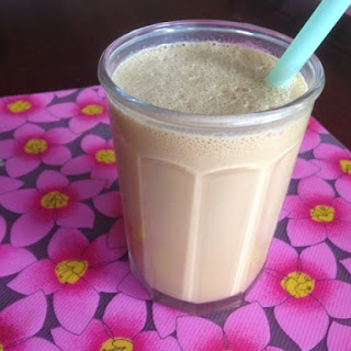 COCONUT COFFEE FRAPPUCINO * Almond Joy Version * low calorie * sugar/sugar-free * lactose free