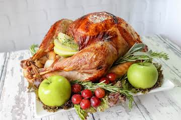 Apple And Herb Infused Roast Turkey