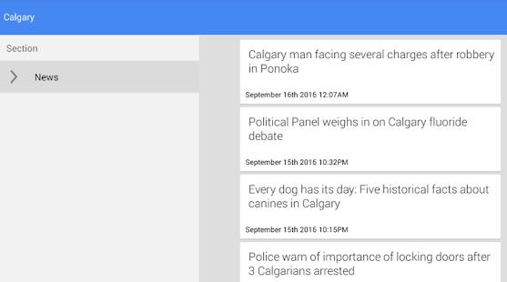 Calgary News - náhled