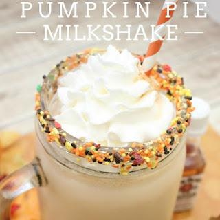 Boozy Pumpkin Pie Milkshake