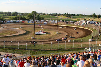 Photo: Eagle Raceway is a 1/3 mile dirt track.
