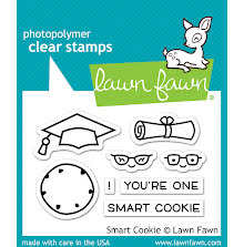 Lawn Fawn Clear Stamps 3X2 - Smart Cookie