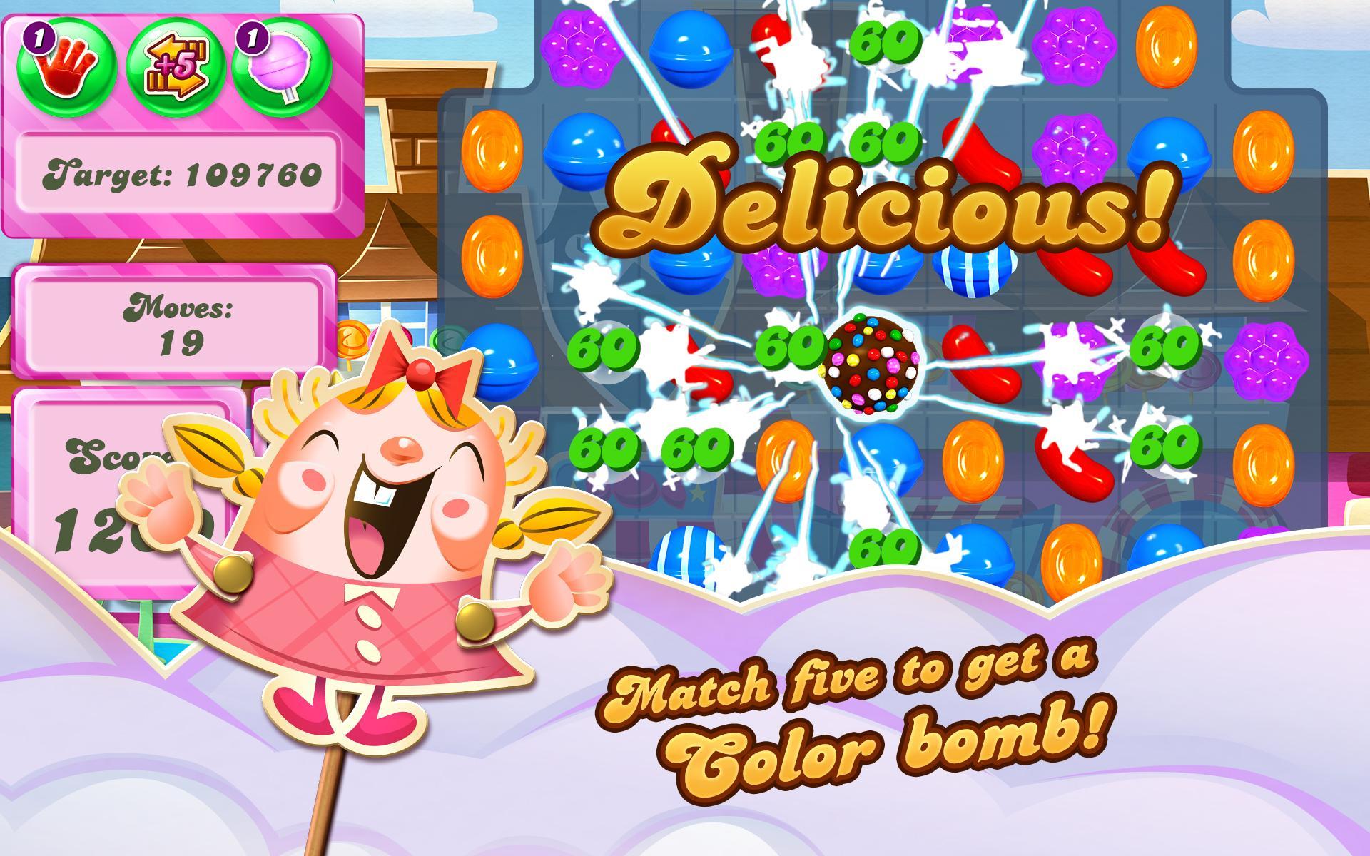 Candy Crush Saga screenshot #13