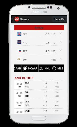 【免費運動App】Wager Watcher - Bet Tracker-APP點子