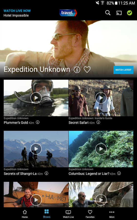 Watch Travel Channel- screenshot