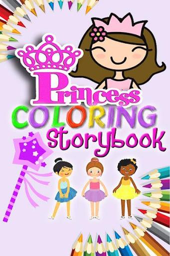 Princess Coloring Storybook