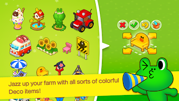 screenshot of LINE BROWN FARM