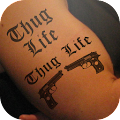 Thug life tattoo photo editor APK for Lenovo