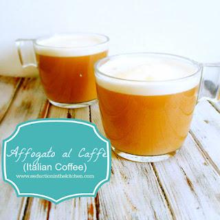 Affogato al Caffè Italian Coffee.