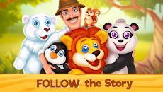 動物園レスキュー: マッチ 3 と動物 (Zoo Rescue)のおすすめ画像5