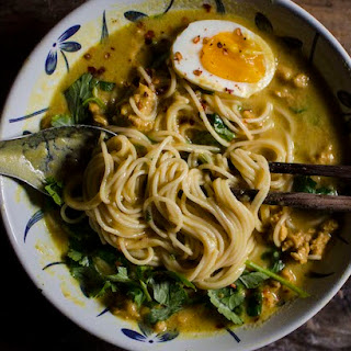 Noodle in Burmese Coconut and Chickpea Broth Recipe