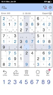 Sudoku Screenshot