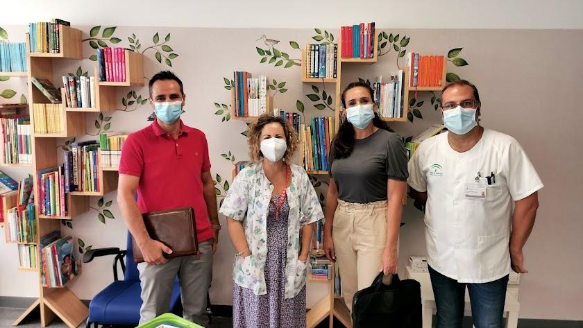 Comienzo del curso escolar en las aulas hospitalarias de Torrecárdenas.