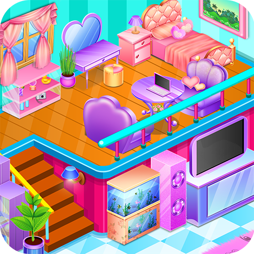 Princess Room Decoration - Design House Icon