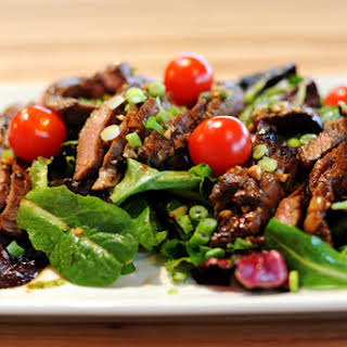 Ginger Steak Salad.