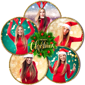 Photo Collage Maker - Custom Christmas Cards