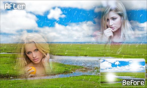 Rainy Dual Photo Frames - náhled