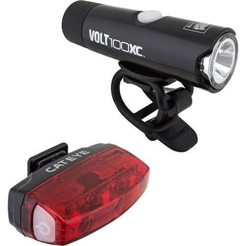 CatEye Volt 100XC/Rapid Micro USB Light Set