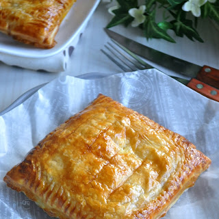 Easy Tuna Puff Pastry 金枪鱼泡芙.