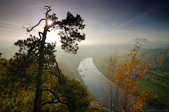 Photo: Archive picture from october 2008. View from Bastai.