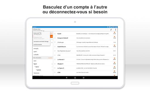 Mail Orange, 1er mail français screenshot 12