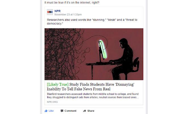 What's True Online?