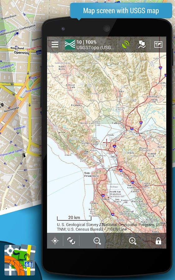 Locus Map Pro Outdoor GPS Navigation And Maps Android Apps On - Us topo maps pro