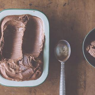 Dairy-free Dark Chocolate Cinnamon Ice Cream