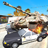 Tank @ San Andreas Game City Android APK Download Free By ActionCrab Games