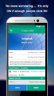 uVite - Group Activity Planner- screenshot thumbnail