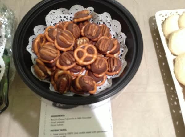 Rolo Pretzel Delights Recipe
