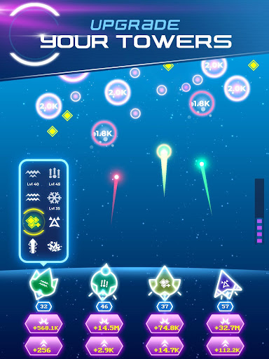 Non-Stop Space Defense - Infinite Aliens Shooter 1.1.0g app download 8