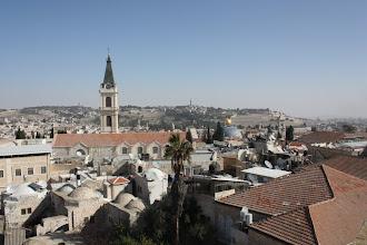 Photo: Jérusalem depuis le collège des Frères