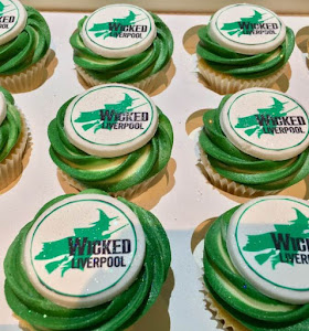 Musical Wicked cupcakes