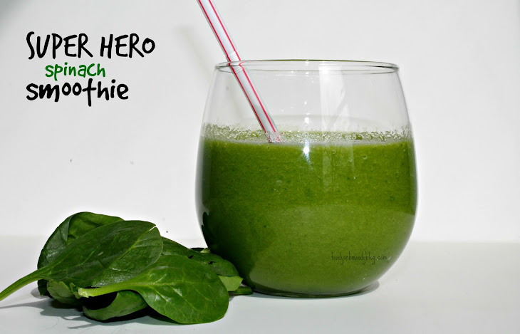 Super Hero Spinach Smoothie Rezept | Yummly