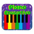 Piano Educativo- Niños, Música, Letras y Animales icon