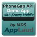 PhoneGap API w/ jQuery Mobile icon