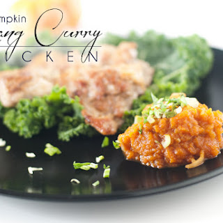 Pumpkin Panang Curry Chicken