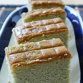 Green Tea Castella or Matcha Kasutera
