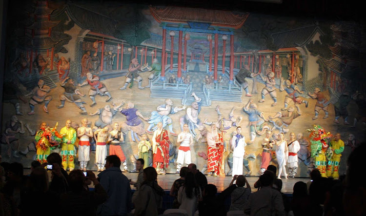 A stage show in Beijing, China.