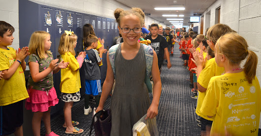 2018 Rogers Fifth Grade Clap Out