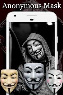 Anonymous Mask Photo Editor Free 4