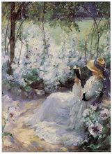 """Photo: Frank Bramley, """"Dolce solitudine"""" (1909)"""