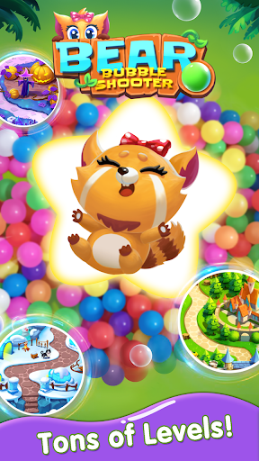 Bubble Shooter - Bear Pop 1.3.4 screenshots 5