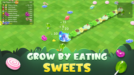 Sweet Crossing: Snake.io filehippodl screenshot 7