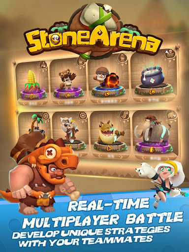 Stone Arena 0.6.41 gameplay | by HackJr.Pw 15