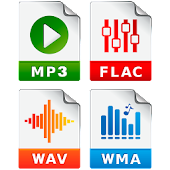 MP3 Converter (music ogg flac wav wma aac)